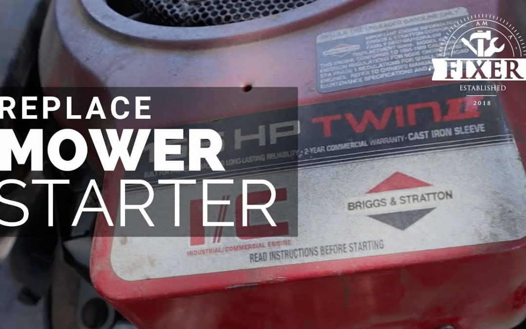 How to Replace A Starter on a Mower