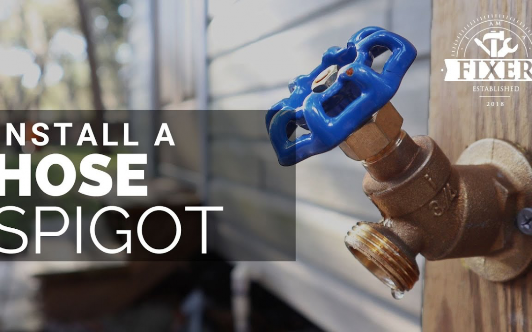 How to Install an Outside Faucet