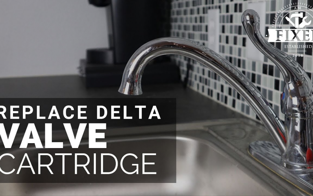 How to Replace a Delta Valve Cartridge