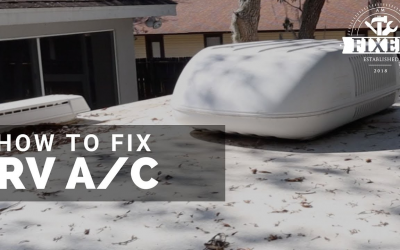 How to Fix A RV Roof A/C
