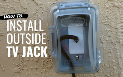 How To Add A TV Jack Outside